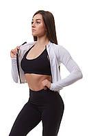 Женская спортивная кофта для фитнеса Asalart short white