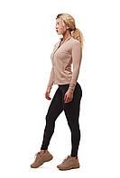 Женская спортивная кофта для фитнеса Asalart classic Beige