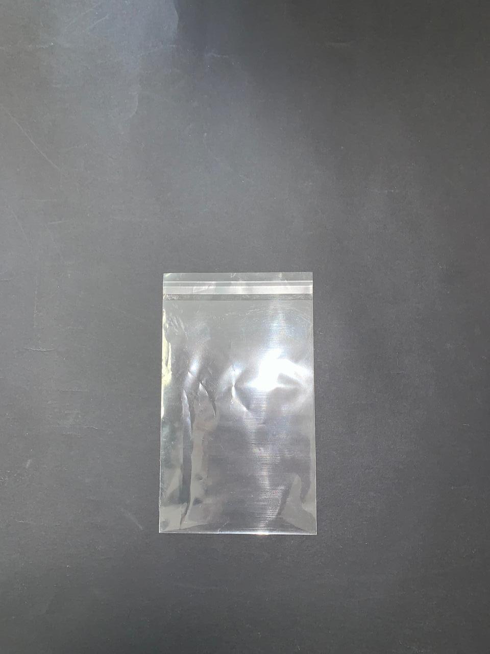 Полипропиленовые пакеты 100х150мм+клапан 20мм, 25 мкм