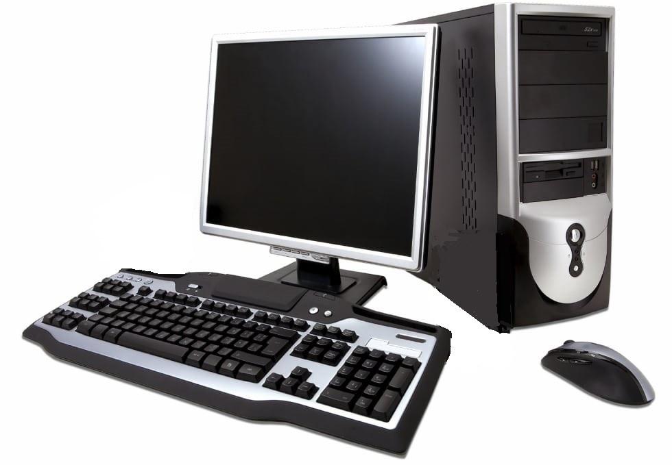 Компьютер в сборе, Core i7-2600, 4 ядра по 3.40 ГГц, 2 Гб ОЗУ DDR3, HDD 0 Гб, монитор 17 дюймов