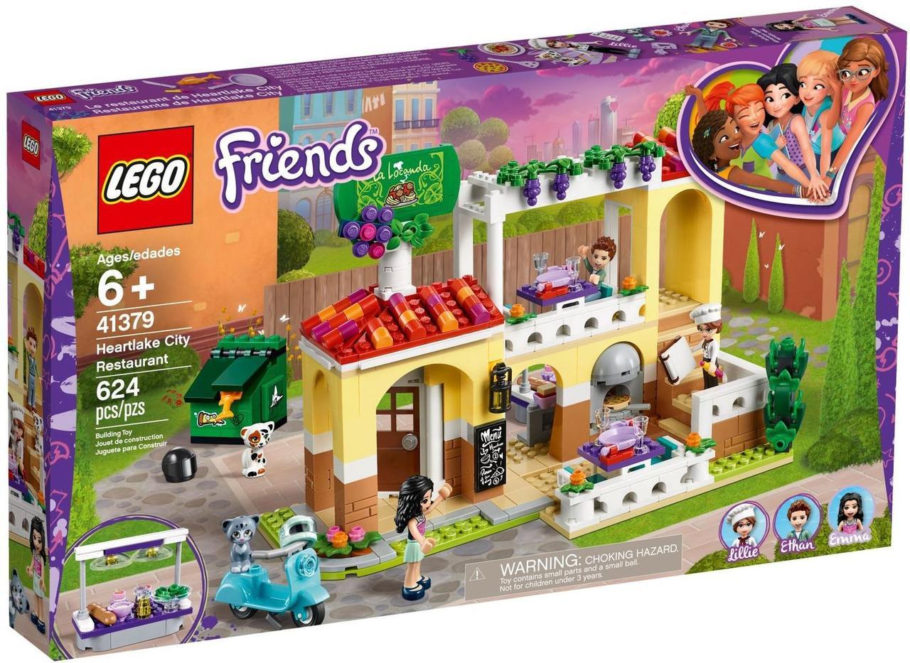 Lego Friends Ресторан Хартлейк Сити 41379