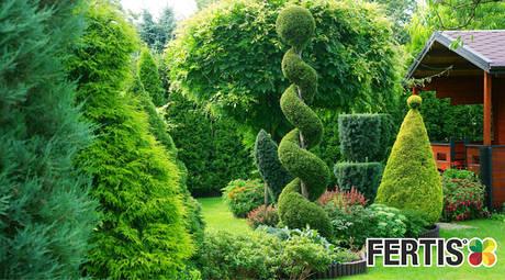 Добрива для хвойних та декоративних рослин FERTIS