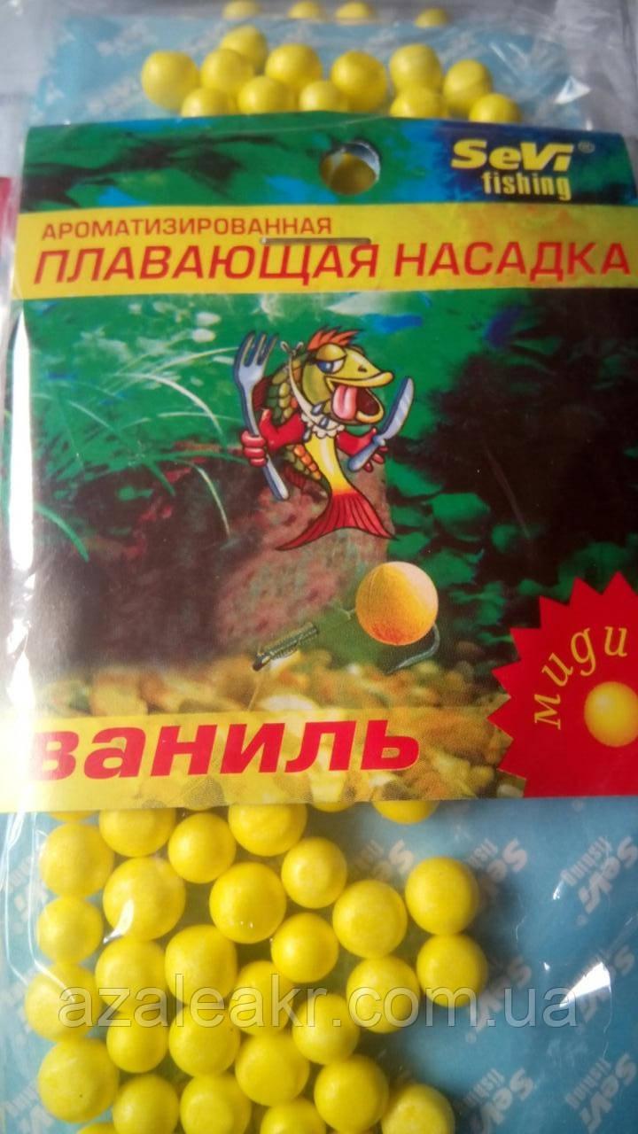 Пенопластовые шарики Ваниль (миди)
