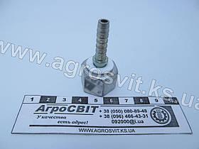 "Ниппель DK ORFS 11/16""-16 под шланг dy=06 мм."