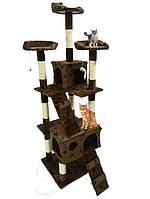 Когтеточка домик дряпка для кошек 170 см, фото 1