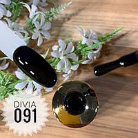 Divia Гель-лак для нігтів Colour Di100 №091 (Астральний Синій)