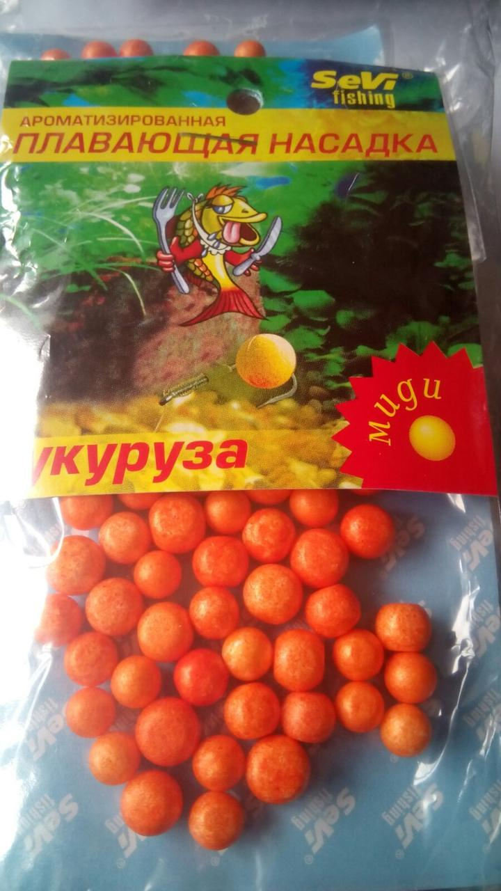 Пенопластовые шарики Кукуруза (миди)