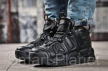 Кроссовки женские 14771, Nike Air Uptempo, черные, < 39 41 > р. 39-25,4см., фото 2