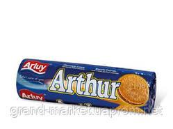 Печенье сэндвич Arluy Arthur с шоколадной начинкой 250г