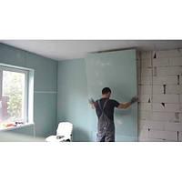 Відновлення гіпсокартонної стіни.