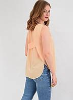 Летняя блузка без рукавов нестандартный крой  6М5068 MEES Турция, фото 1