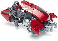 Оригинальный детский конструктор Halo Летающий призрак Mega Construx Halo Banished Ghost Rush DXF01