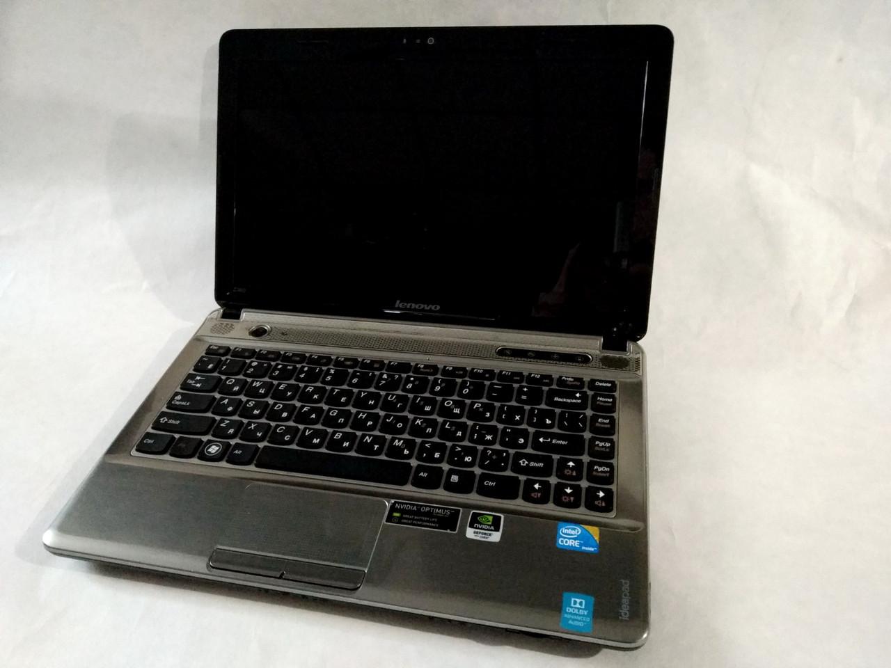"Ноутбук Lenovo Ideapad Z360 0912 диагональ 13.3"" Core i5 GeForce"