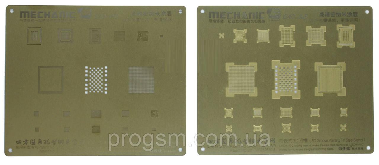 3D BGA-трафарет Mechanic A8 для iPhone 6 / iPhone 6 Plus
