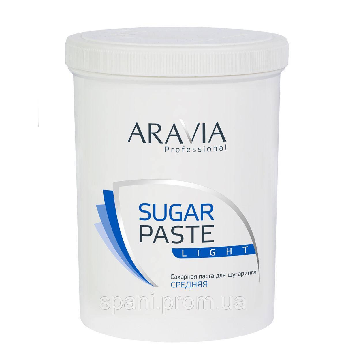 """ARAVIA Professional"" Сахарная паста для депиляции ""Легкая"" средней консистенции 1500 гр."