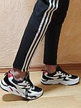 Кроссовки черно-белые от  NIKE (реплика ТОР ААА+)  весна- осень (42 43,44 размер), фото 2