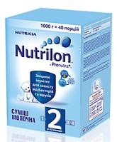 Суміш молочна суха Nutrilon 2 для дітей від 6 до 12 місяців 1000 гр.