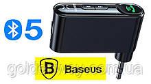 Блютуз bluetooth переходник в адаптер AUX BASEUS TYPE 7 AUX BLUETOOTH HANDS-FREE CAR KIT
