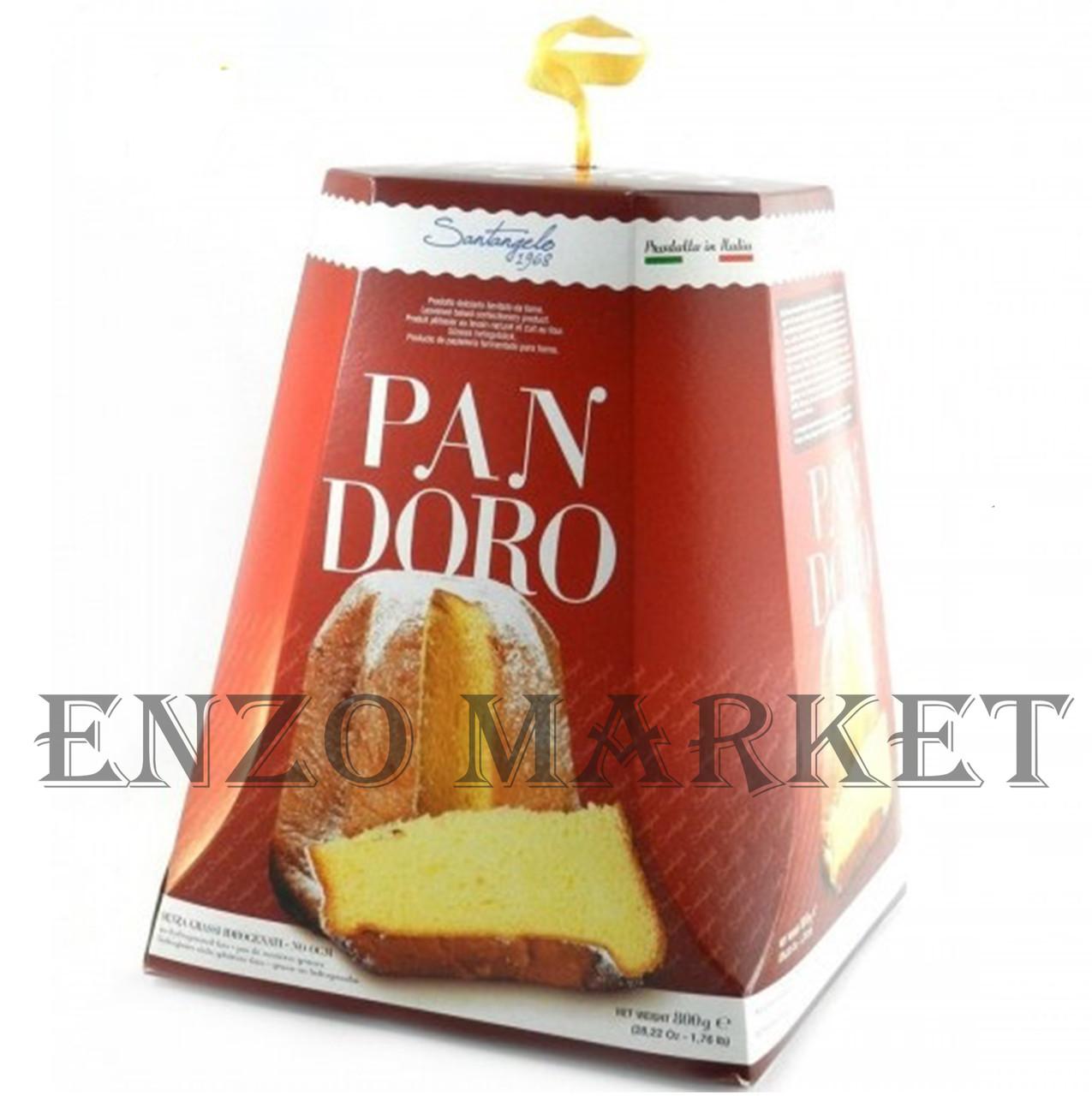 Панеттоне Pandoro Santangelo, 800 грамм