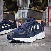 Кроссовки мужские 15933, Adidas Yung 1, темно-синие, < 43 44 45 46 > р. 43-27,5см., фото 2