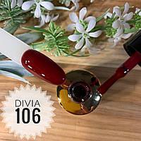 Divia Гель-лак для нігтів Colour Di100 №106 (Солодке Вино)