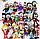 Арбуз,14см Оригинальная плюшевая игрушка Растения против зомби из игры Plants vs Zombies, фото 5