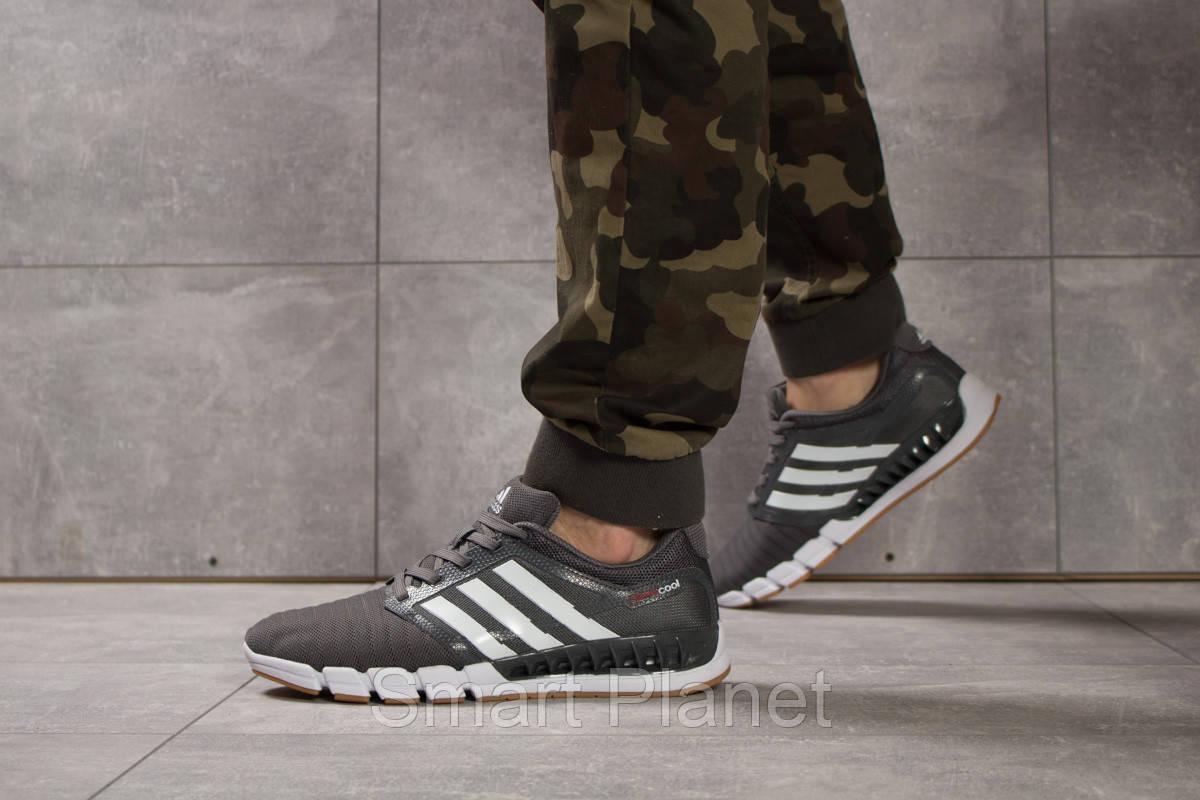 Кроссовки мужские 16082, Adidas Climacool, темно-серые, < 44 45 > р. 44-28,5см.