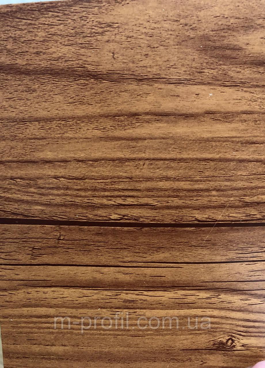 Профнастил ПС-8 ольха темная, 0,35мм