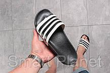 Шлепанцы мужские 16282, Adidas, черные, < 44 > р. 44-28,7см., фото 3