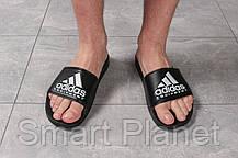 Шлепанцы мужские 16292, Adidas Equipment, черные, < 44 > р. 44-28,4см., фото 2