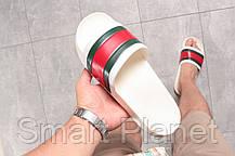 Шлепанцы мужские 16391, Gucci, белые, < 44 > р. 44-29,5см., фото 2