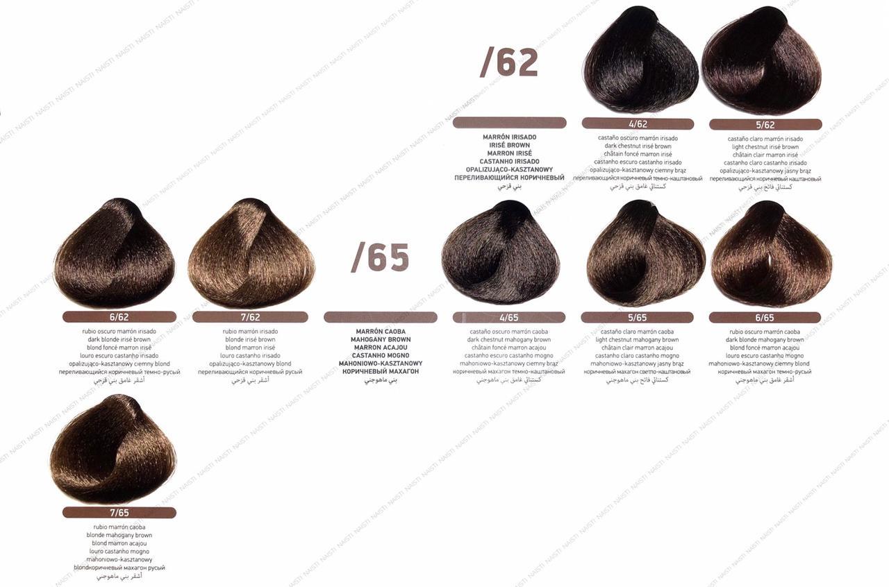 Erayba Equilibrium Mix (крем-краска с кондиционирующим эффектом) Переливающийся коричневый/коричневый махагон