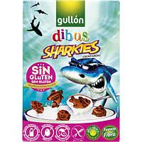 Печенье Гулон Gullon Dibus sharkies без глютена 250 г