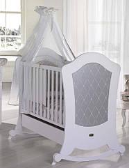 Кроватка Micuna Alexa Relax 140х70 White-Silver