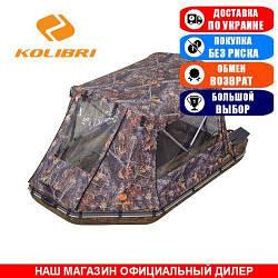 Палатка для надувной моторной лодки Kolibri KM-360. (Лодочная палатка на лодку 3,60м);