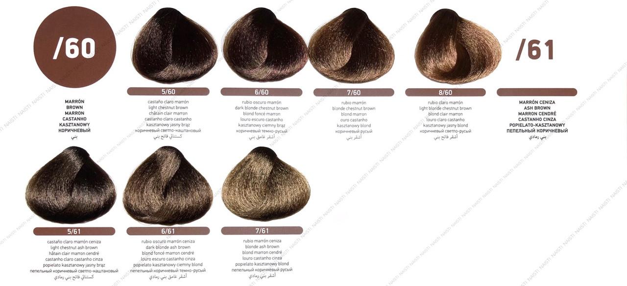 ERAYBA Equilibrium Mix (крем-краска с кондиционирующим эффектом) Коричневый/пепельный коричневый оттенок