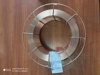 Проволока сварочная омеднённая 1 мм (катушка 5 кг, марка Св-08Г2С)