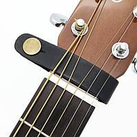 Шкіряний тримач для гітарного ремінця