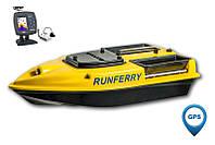 Карповый кораблик Camarad V3 GPS + Lucky 918 Yellow