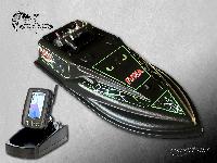 Прикормочный кораблик Фурия с эхолотом Toslon TF500