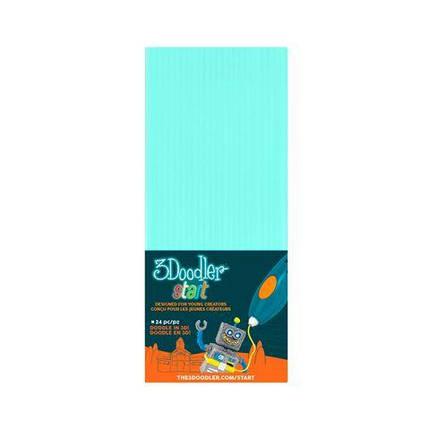 Набор мятных стержней для 3D-ручки 3Doodler Start 3Doodler 3DS-ECO02-MINT-24, фото 2