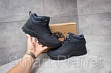 Зимние мужские кроссовки 30052, Timberland Canard Oxford, темно-синие, < 41 46 > р. 41-26,0см., фото 2