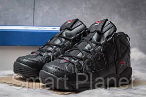 Зимние мужские кроссовки 30461, Fila Spaghetti, черные, < 42 > р. 42-26,2смсм.