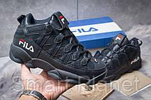 Зимние мужские кроссовки 30462, Fila Spaghetti, темно-синие, < 41 46 > р. 41-25,5смсм., фото 2