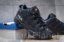 Зимние мужские кроссовки 30462, Fila Spaghetti, темно-синие, < 41 46 > р. 41-25,5смсм., фото 3