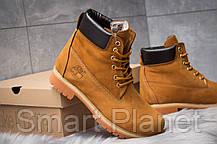 Зимние мужские ботинки 30651, Timberland 6 Premium Boot, рыжие, < 40 > р. 40-27,0см., фото 3