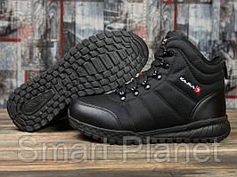 Зимние мужские кроссовки 30981, Kajila Fashion Sport, черные, < 44 > р. 44-29,0см.