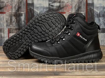 Зимние женские кроссовки 30992, Kajila Fashion Sport, черные, < 37 38 39 40 > р. 37-24,0см., фото 2