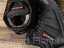 Зимние женские кроссовки 30992, Kajila Fashion Sport, черные, < 37 38 39 40 > р. 37-24,0см., фото 3