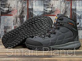 Зимние мужские кроссовки 31021, Columbia, темно-серые, < 43 > р. 43-28,5см.